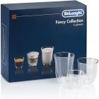 Mix de pahare DeLonghi Fancy Collection cu perete dublu