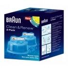 Rezerva aparat de ras Braun cu sistem Clean & Renew